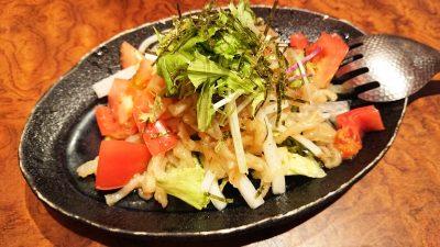 クラゲと大根サラダ(S)|中華酒家飯店 角鹿(鹿島田)