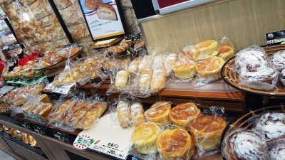 棚のパン|パリクロアッサン 川崎店