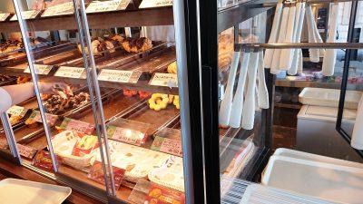 トングと棚のドーナツ|ミスタードーナツ 鹿島田ショップ