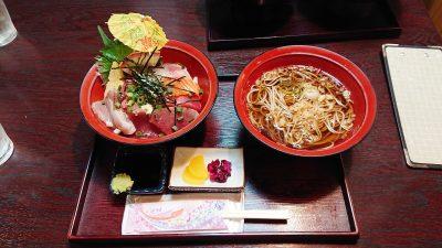 Bランチ(海鮮丼+そば)|割烹 船勢(鹿島田)