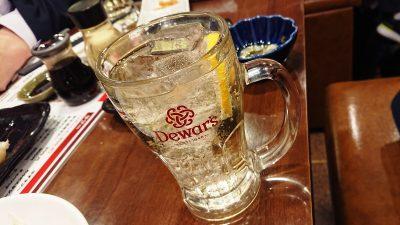 ハイボール 24時間 餃子酒場 大井町店