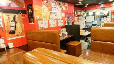 店舗内観 24時間 餃子酒場 大井町店