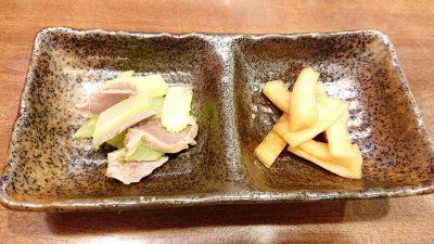 お通し 24時間 餃子酒場 大井町店