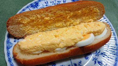 ダブルたまごパン(中身)|スモモハウス