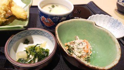 茶碗蒸し・お浸し・お漬物|藍屋 武蔵小杉店