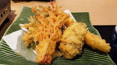 天ぷら(牡蠣味噌鍋御膳)|藍屋 武蔵小杉店