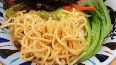 排骨野菜麺(麺)|七志らーめん 鹿島田店