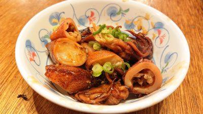 やりいか甘辛煮|串かつ でんがな パークタワー新川崎店