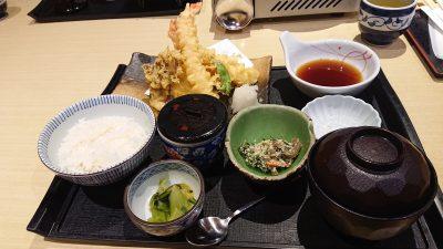 天ぷら御膳|藍屋 武蔵小杉店