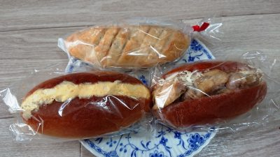 パン3種|ブーランジュリー ミヨ