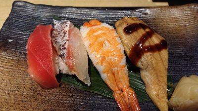 お寿司4貫(牡蠣味噌鍋御膳)|藍屋 武蔵小杉店