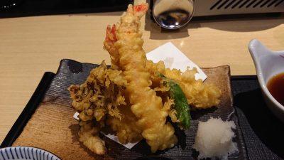 天ぷら(天ぷら御膳)|藍屋 武蔵小杉店