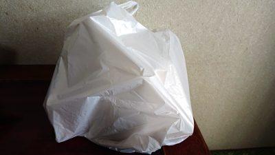 テイクアウトの袋|からあげ縁 武蔵新田店