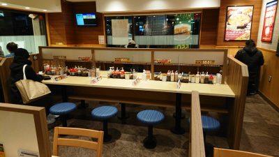 店舗内観・その1|マイカリー食堂 武蔵小杉店(松屋併設)