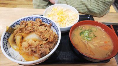 牛丼・野菜・とん汁|吉野家 1号線川崎遠藤町店