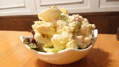 卵多めのポテトサラダ がブリチキン。 武蔵小杉店