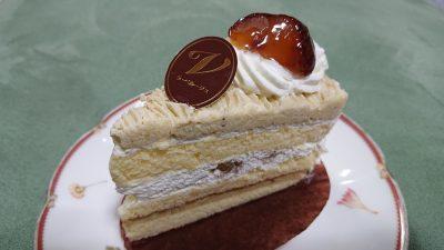 熊本県産和栗ショート|ラ・ベルージュ 下平間店