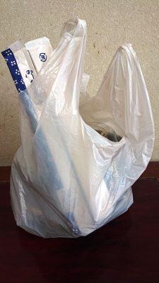 テイクアウトの袋|どんぶり屋まぐろ大将