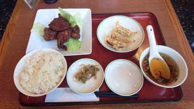鶏唐揚げ定食|双喜亭 川崎西口店