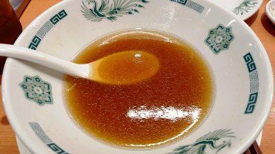 中華蕎麦のスープ|日高屋 鹿島田店