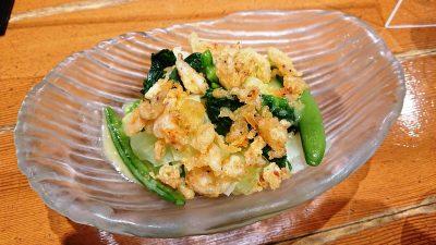 春野菜のはんなりサラダ|北前そば高田屋 川崎駅前店