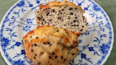 セサミチーズ(断面)|ブレッドキャンプふくふく
