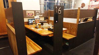 テーブル席|七輪焼肉 安安 鹿島田店
