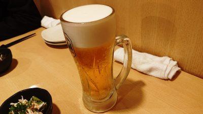 生ビール|炭火焼鳥 鶏治