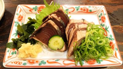 カツオのたたき|まぐろ料理 まんや(新川崎・鹿島田)
