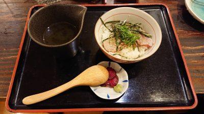 マグロ茶漬け|まぐろ料理 まんや(新川崎・鹿島田)