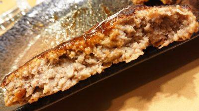 ハンバーグステーキ(断面)|ガスト 下平間店