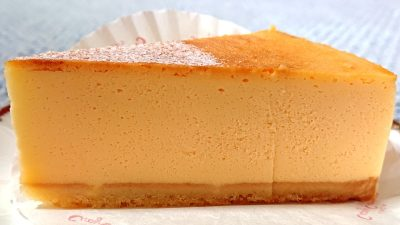 サマーベイクドチーズ(断面)|銀座コージーコーナー マルエツ鹿島田