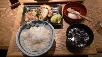 炙りチャーシュー定食|肉汁餃子製作所 ダンダダン酒場 新川崎店