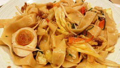 ビャンビャン麺(まぜまぜ後)|バーミヤン 下平間店