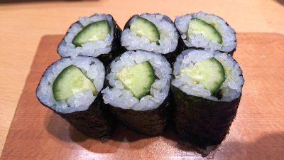 かっぱ巻き|板前が握る寿司 ななつぼ 鹿島田店