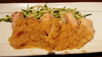 蒸し鶏生姜だれ WANG'S GARDEN 武蔵小杉店(ワンズガーデン)