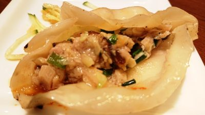 お肉たっぷり焼き餃子(餡) WANG'S GARDEN 武蔵小杉店(ワンズガーデン)