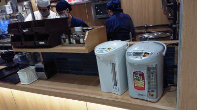 スープ割りのポット|舎鈴 グランツリー武蔵小杉店