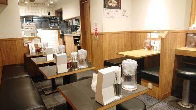 テーブル席|田中そば店 蒲田店