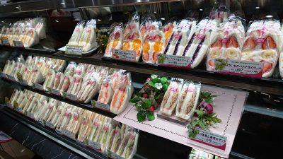棚のサンドイッチ|サンドイッチハウス メルヘン ラゾーナ川崎店