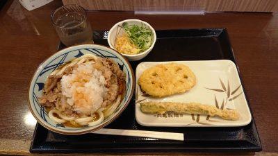 鬼おろし肉ぶっかけ&天ぷら 丸亀製麺