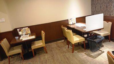 テーブル席|デニーズ 下丸子店