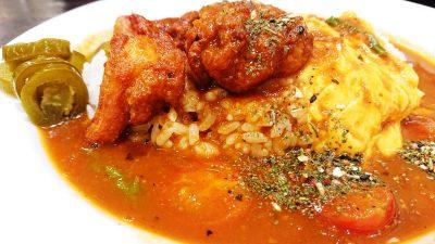 チキンとトマトのホットスパイスカレー(アップ)|カレーハウスCoCo壱番屋 JR鹿島田駅前店