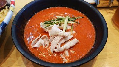冷やしまるごとトマトつけ麺(スープ) 七志らーめん 鹿島田店