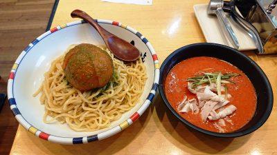 冷やしまるごとトマトつけ麺 七志らーめん 鹿島田店