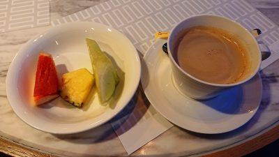 ビュッフェ3:フルーツ&カフェオレ|TERRACE and TABLE(ホテルメトロポリタン川崎)