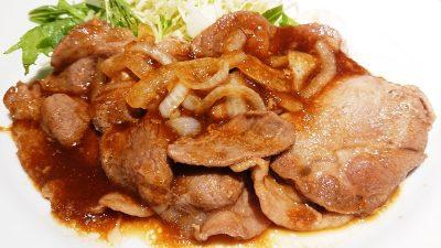 生姜焼き膳(アップ)|デニーズ 下丸子店