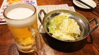 ビールとお通し|カドクラ商店
