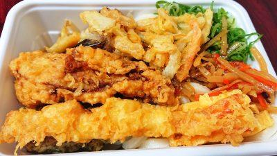 人気の天ぷら4種と定番おかずのうどん弁当2|丸亀製麺 武蔵小杉店
