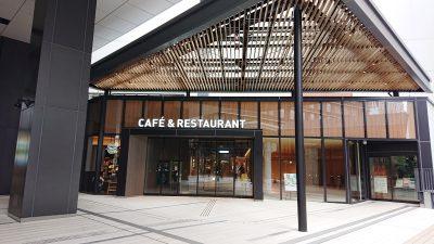 川崎デルタの飲食店街入口